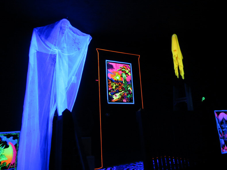 Blacklight Halloween Decorations Part 51